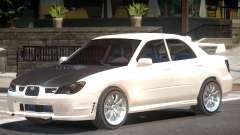 Subaru Impreza WRX ST para GTA 4