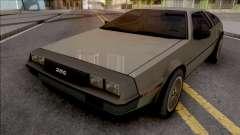 DeLorean DMC-12 1981 Grey para GTA San Andreas