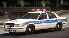 Ford Crown Victoria Police Unit