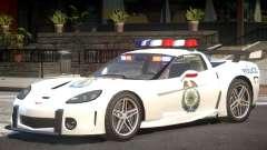 Chevrolet Corvette Police V1.1 para GTA 4