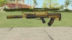 Bullpup Rifle (Two Upgrades V9) Main Tint GTA V para GTA San Andreas