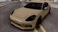 Porsche Panamera Turbo 2017 Lowpoly