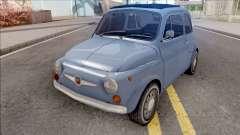 Fiat Abarth 595 SS 1968 Strip Wheels para GTA San Andreas