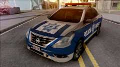 Nissan Versa 2019 Policia Federal Mexicana para GTA San Andreas
