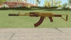 Assault Rifle GTA V Suppressor (Extended Clip) para GTA San Andreas