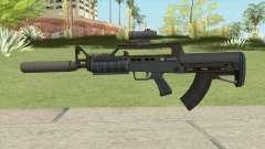 Bullpup Rifle (Three Upgrades V5) Old Gen GTA V para GTA San Andreas