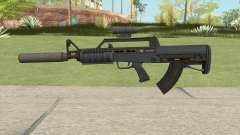 Bullpup Rifle (Two Upgrades V9) Old Gen GTA V