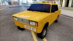 ВАЗ 2107 Deriva de Taxi de la Ciudad de Bakú
