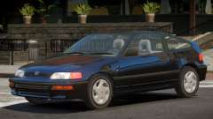 1992 Honda CRX V1.3 para GTA 4