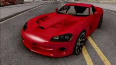 Dodge Viper SRT-10 Low Poly