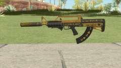Bullpup Rifle (Two Upgrades V6) Main Tint GTA V para GTA San Andreas