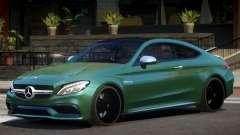 Mercedes C63 S AMG V1 para GTA 4