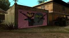 New CJ House Garage Master From and Brock para GTA San Andreas