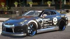 Nissan GT-R 35 V1.0 PJ para GTA 4