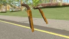 Double Barrel Shotgun GTA V (Gold) para GTA San Andreas