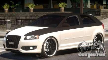 Audi S3 Tuned para GTA 4