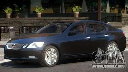 Lexus GS450 Y6 para GTA 4