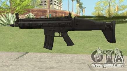 SCAR-L AR V1 para GTA San Andreas