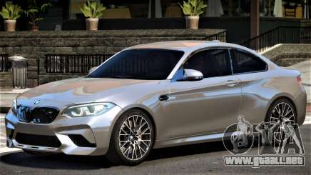 2018 BMW M2 Competition para GTA 4