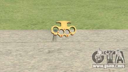Knuckle Dusters (The Pimp) GTA V para GTA San Andreas