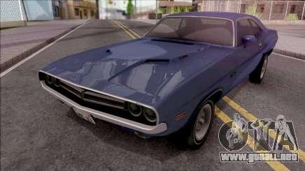 Dodge Challenger RT 1971 para GTA San Andreas