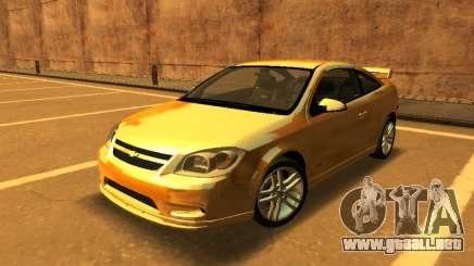 Chevrolet Cobalt SS Yellow para GTA San Andreas