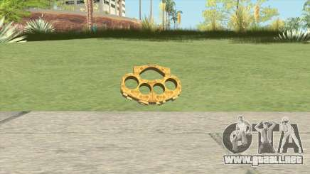 Knuckle Dusters (The Lover) GTA V para GTA San Andreas
