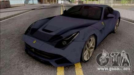 Ferrari F12 Berlinetta 2012 SA Style para GTA San Andreas