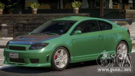 Toyota Scion S para GTA 4