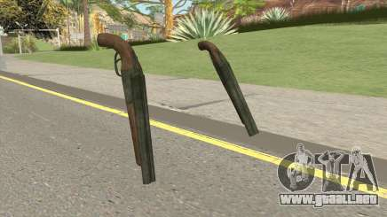 Double Barrel Shotgun GTA V (Green) para GTA San Andreas
