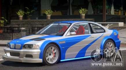 BMW M3 NFS MW para GTA 4