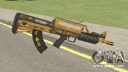 Bullpup Rifle (Flashlight V1) Main Tint GTA V para GTA San Andreas