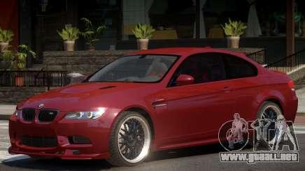 BMW M3 E92 Custom para GTA 4
