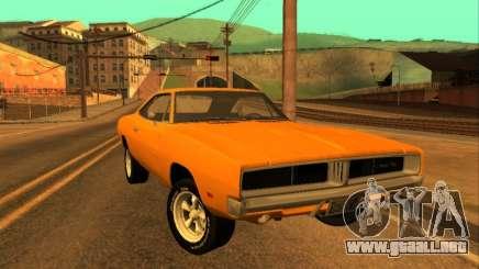 Dodge Charger RT 1969 Orange para GTA San Andreas
