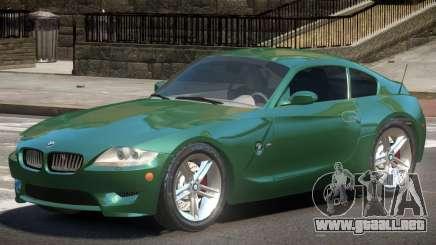 BMW Z4 GT para GTA 4
