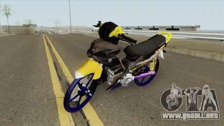Yamaha Lagenda 115ZFI (Jupiter Mx) para GTA San Andreas