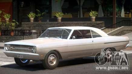 1969 Dodge Dart V1.1 para GTA 4