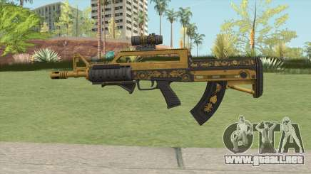 Bullpup Rifle (Three Upgrade V1) Main Tint GTA V para GTA San Andreas