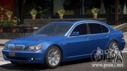 BMW 760Li E66 V1 para GTA 4