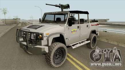 Cenareca UR-53AR50 Tiuna para GTA San Andreas