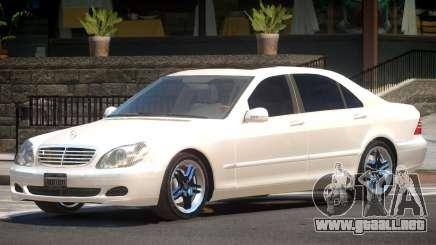 Mercedes W220 R1 para GTA 4