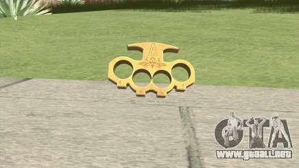 Knuckle Dusters (The Vagos) GTA V para GTA San Andreas