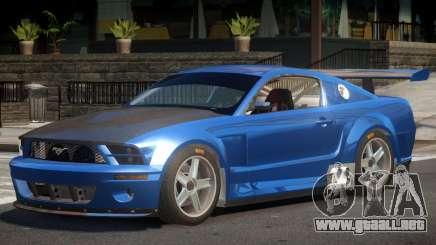 Ford Mustang GT-R V1 para GTA 4