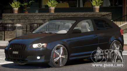Audi S3 GT para GTA 4