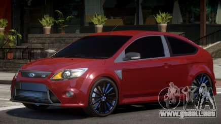 Ford Focus RS Y12 para GTA 4