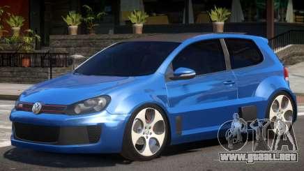 Volkswagen Golf Custom para GTA 4
