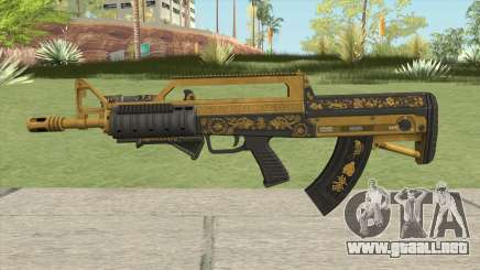 Bullpup Rifle (Two Upgrades V1) Main Tint GTA V para GTA San Andreas