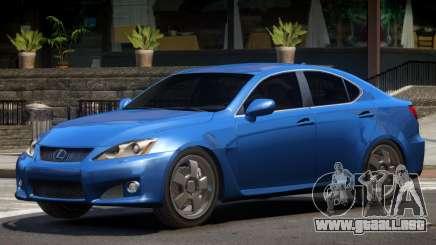 Lexus IS F V1.3 para GTA 4