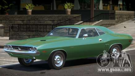 1970 Dodge Challenger R1 para GTA 4