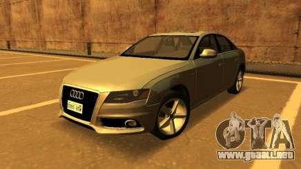 Audi A4 2.0 TFSI 2010 para GTA San Andreas